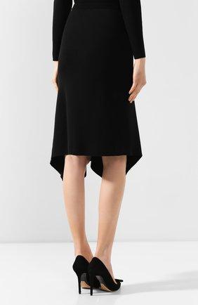 Женская юбка DIANE VON FURSTENBERG черного цвета, арт. 13337DVF   Фото 4