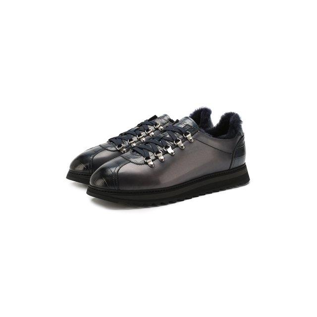 Кожаные кроссовки Doucal's — Кожаные кроссовки