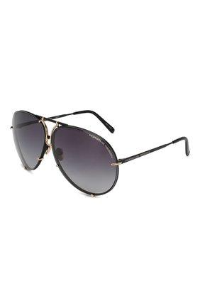 Женские солнцезащитные очки PORSCHE DESIGN фиолетового цвета, арт. 8478-S   Фото 1