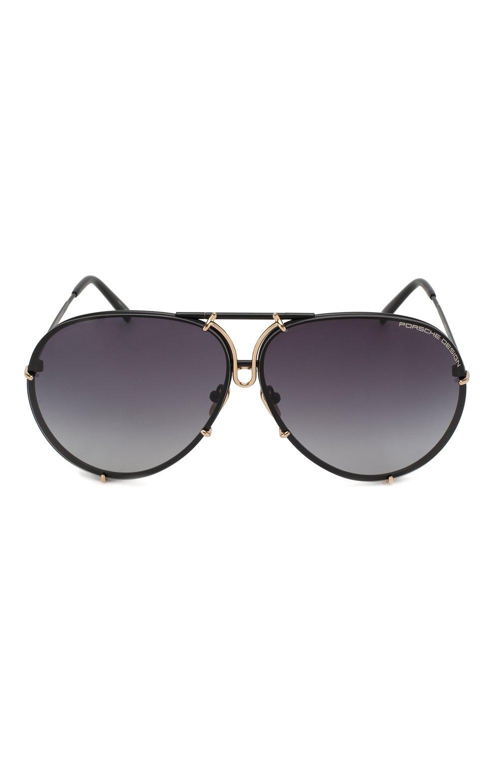 Женские солнцезащитные очки PORSCHE DESIGN фиолетового цвета, арт. 8478-S   Фото 2