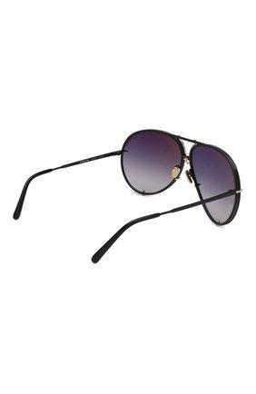 Женские солнцезащитные очки PORSCHE DESIGN фиолетового цвета, арт. 8478-S   Фото 3