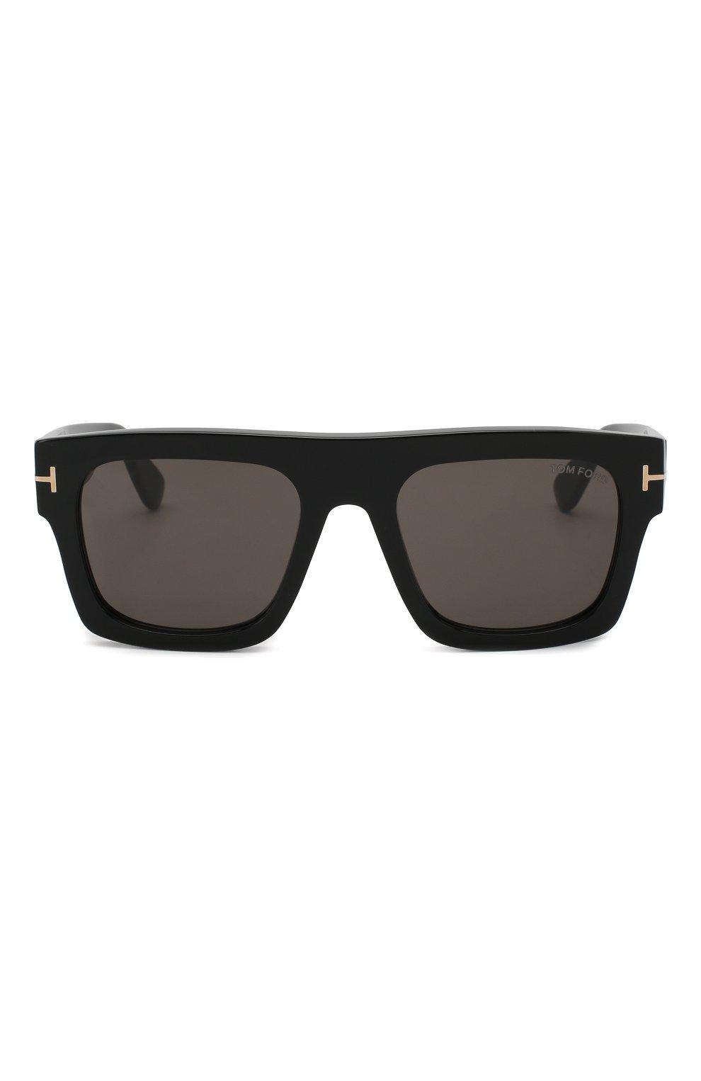 Женские солнцезащитные очки TOM FORD черного цвета, арт. TF711 01A   Фото 2