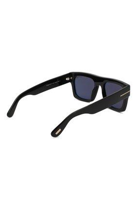 Женские солнцезащитные очки TOM FORD черного цвета, арт. TF711 01A   Фото 3