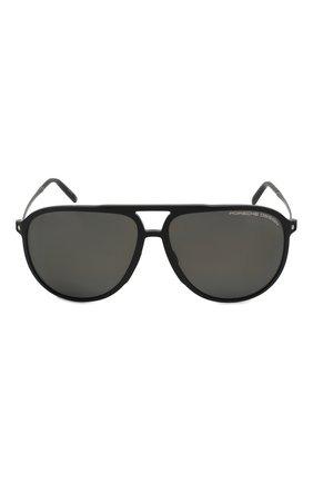 Мужские солнцезащитные очки PORSCHE DESIGN черного цвета, арт. 8662-A | Фото 2