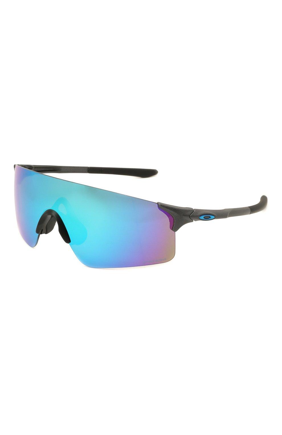 Женские солнцезащитные очки OAKLEY голубого цвета, арт. 9454-945403 | Фото 1