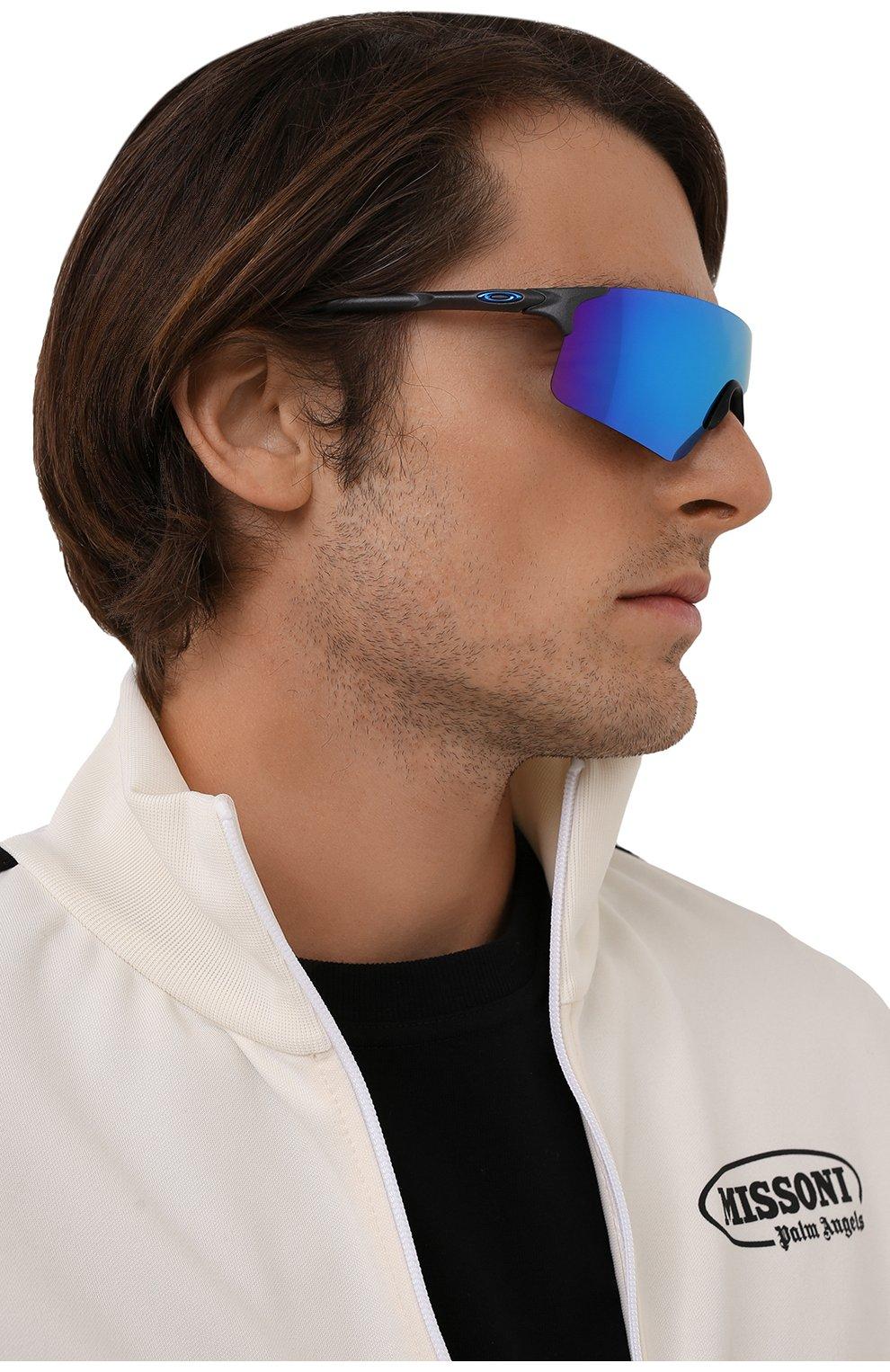 Женские солнцезащитные очки OAKLEY голубого цвета, арт. 9454-945403 | Фото 2