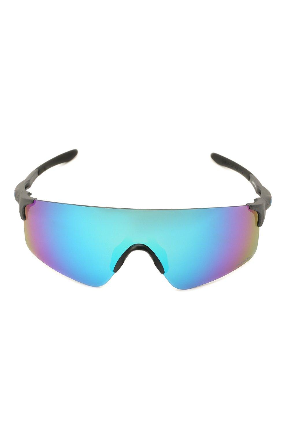 Женские солнцезащитные очки OAKLEY голубого цвета, арт. 9454-945403 | Фото 3