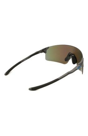 Женские солнцезащитные очки OAKLEY голубого цвета, арт. 9454-945403 | Фото 4