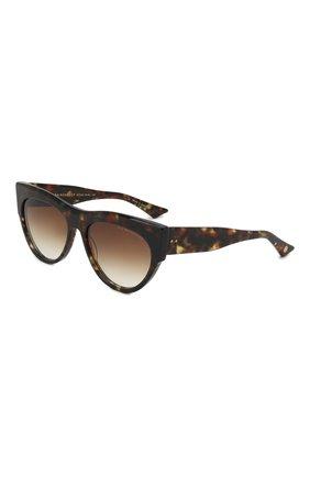 Мужские солнцезащитные очки DITA коричневого цвета, арт. BRAINDANCER/02 | Фото 1