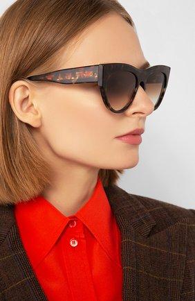 Мужские солнцезащитные очки DITA коричневого цвета, арт. BRAINDANCER/02 | Фото 2