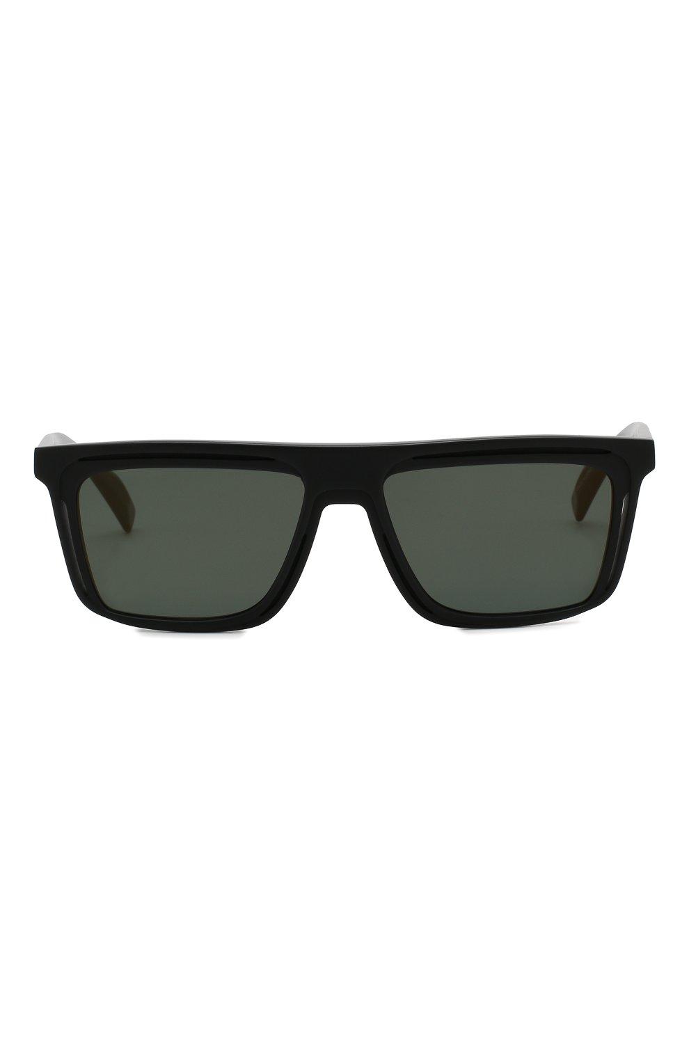 Мужские солнцезащитные очки YOHJI YAMAMOTO черного цвета, арт. YY5020 002 | Фото 2