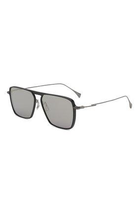 Мужские солнцезащитные очки YOHJI YAMAMOTO светло-серого цвета, арт. YY7036 509 | Фото 1