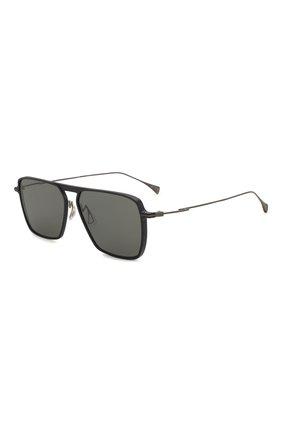 Мужские солнцезащитные очки YOHJI YAMAMOTO серого цвета, арт. YY7036 609   Фото 1