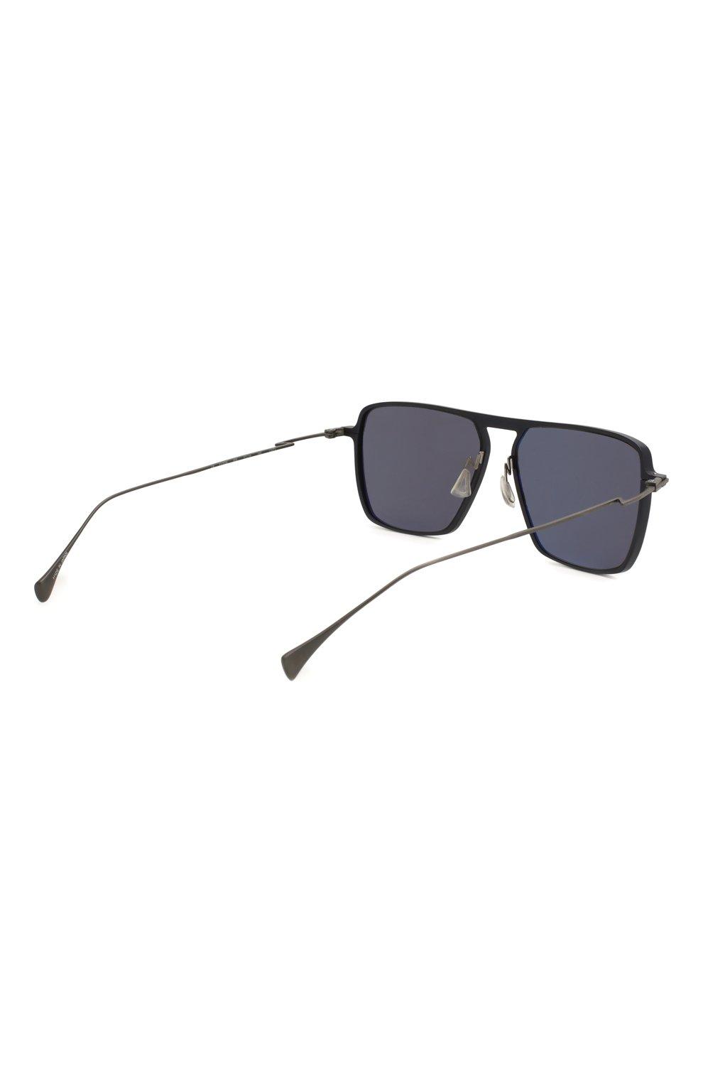 Мужские солнцезащитные очки YOHJI YAMAMOTO серого цвета, арт. YY7036 609   Фото 5