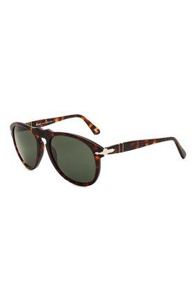 Женские солнцезащитные очки PERSOL коричневого цвета, арт. 0649-24/31   Фото 1