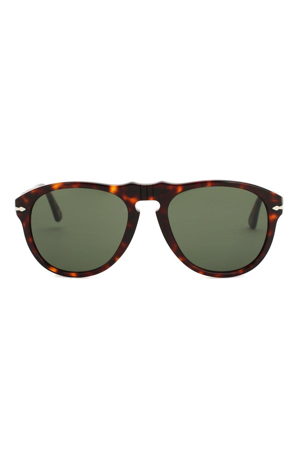 Женские солнцезащитные очки PERSOL коричневого цвета, арт. 0649-24/31   Фото 3