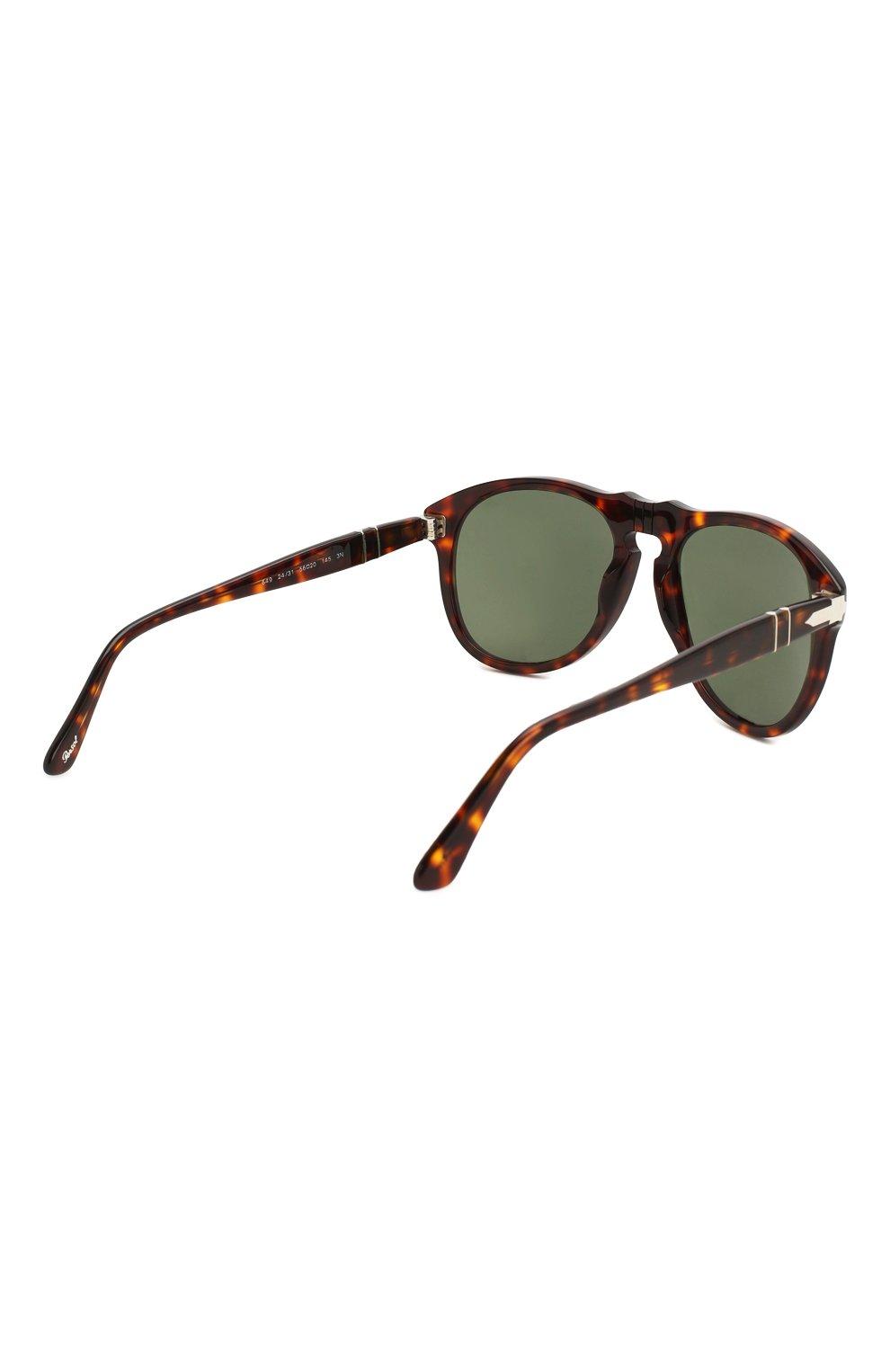 Женские солнцезащитные очки PERSOL коричневого цвета, арт. 0649-24/31   Фото 4