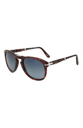 Мужские солнцезащитные очки PERSOL коричневого цвета, арт. 0714-24/S3 | Фото 1