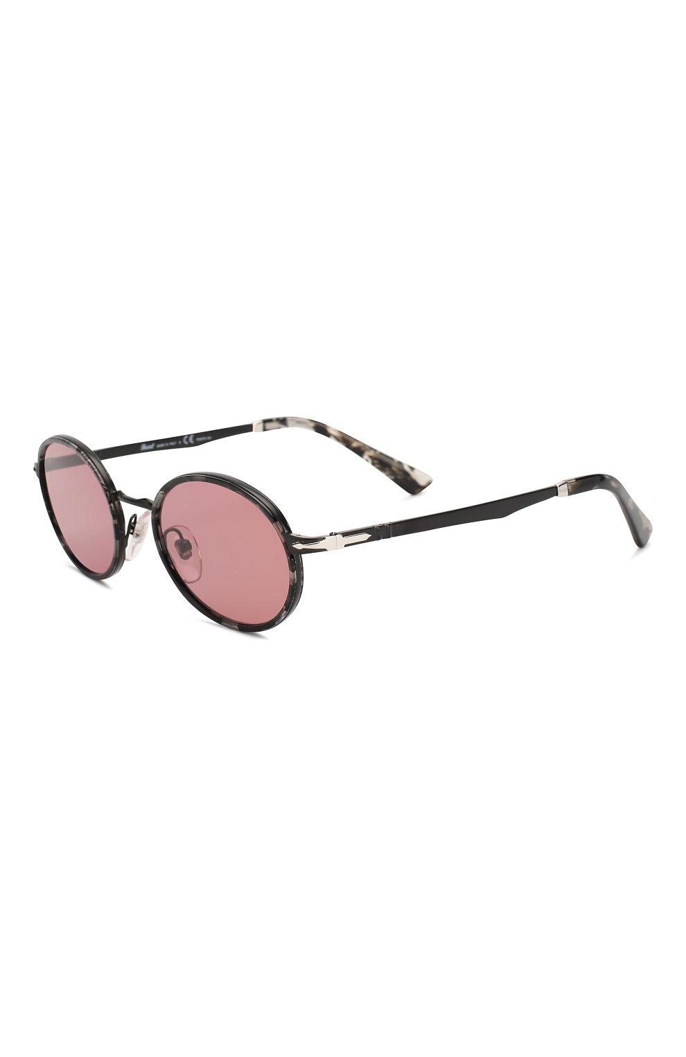 Женские солнцезащитные очки PERSOL розового цвета, арт. 2457S-10784R   Фото 1