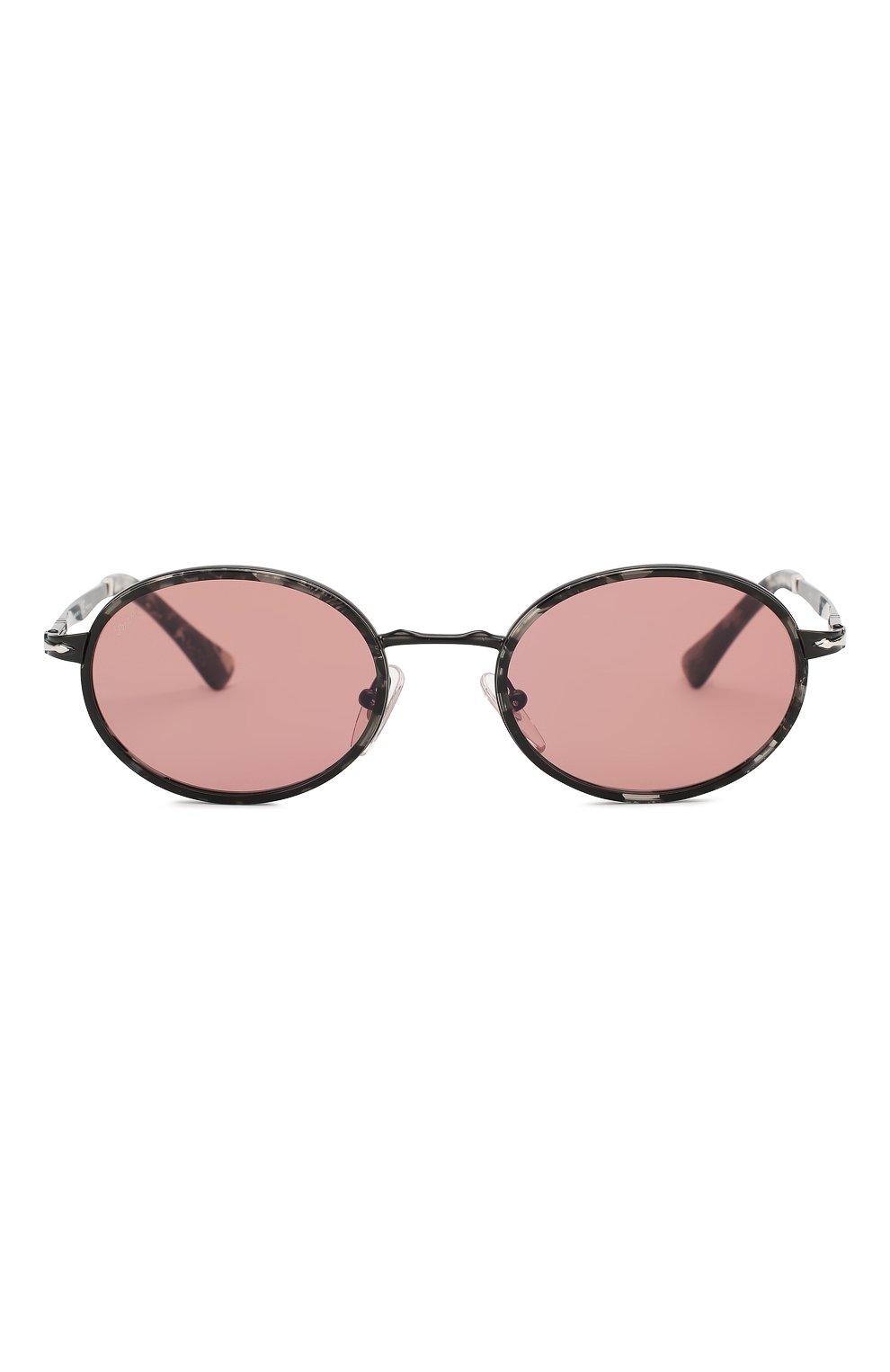 Женские солнцезащитные очки PERSOL розового цвета, арт. 2457S-10784R   Фото 3