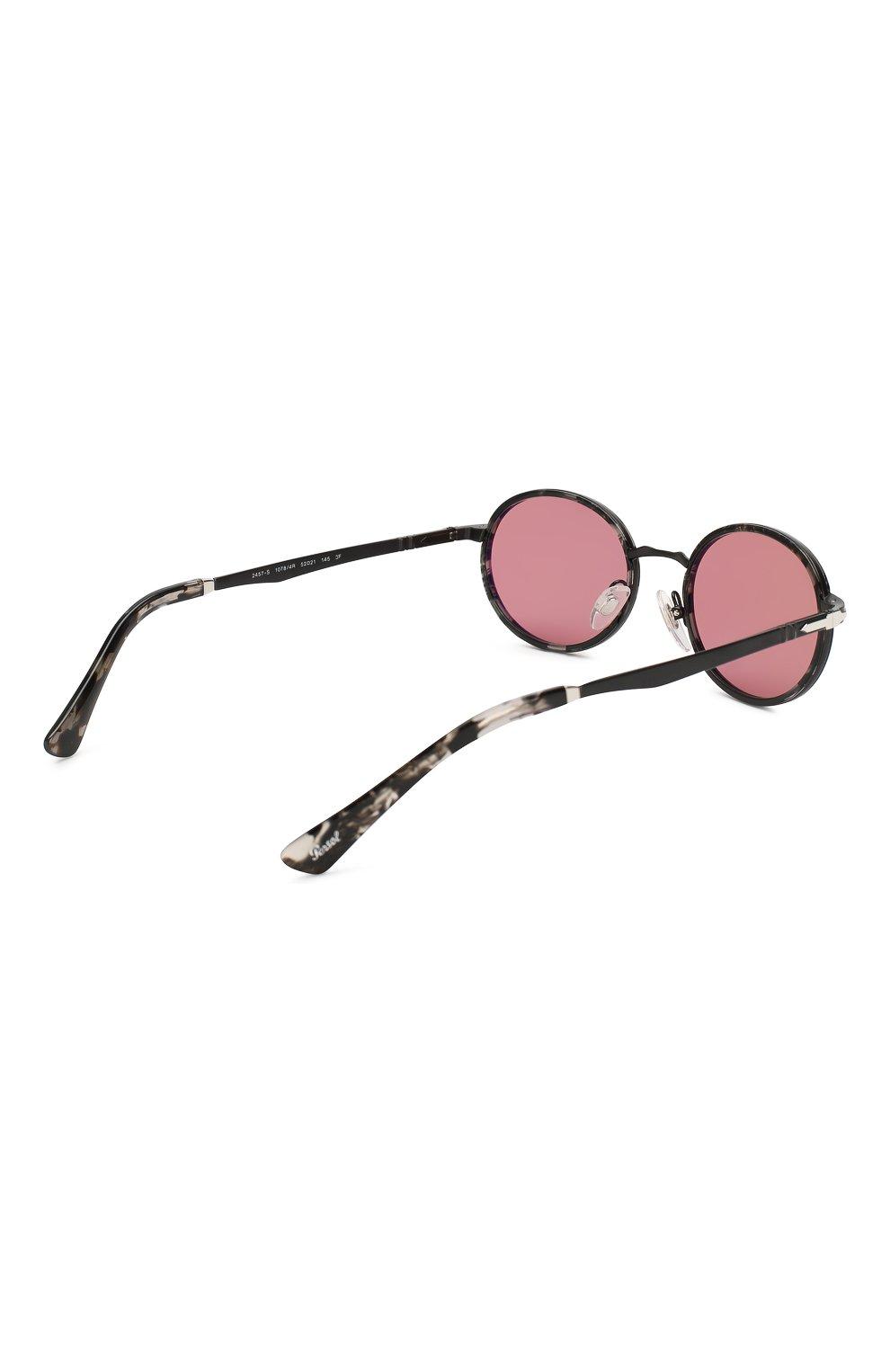 Женские солнцезащитные очки PERSOL розового цвета, арт. 2457S-10784R   Фото 4