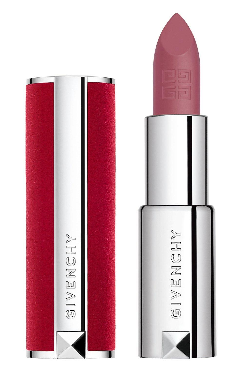 Женская матовая губная помада le rouge deep velvet, 14 rose boise GIVENCHY бесцветного цвета, арт. P083572   Фото 1