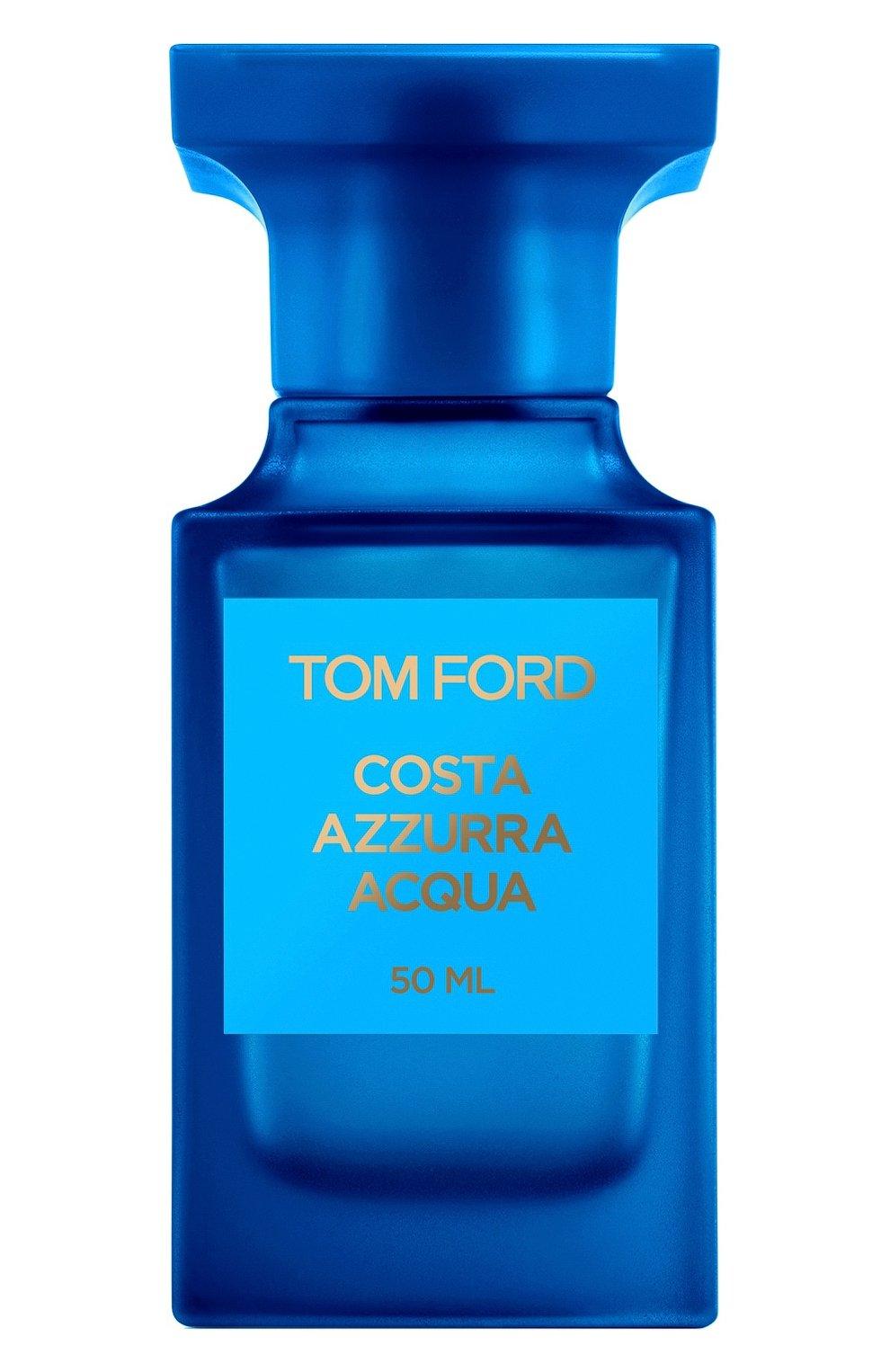 Женский туалетная вода costa azzurra acqua TOM FORD бесцветного цвета, арт. T5JY-01 | Фото 1
