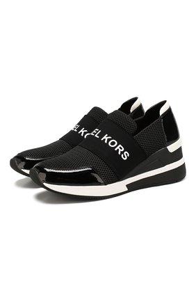 Текстильные кроссовки Felix | Фото №1