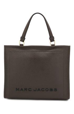 Женская сумка-шопер the box MARC JACOBS (THE) коричневого цвета, арт. M0014877 | Фото 1