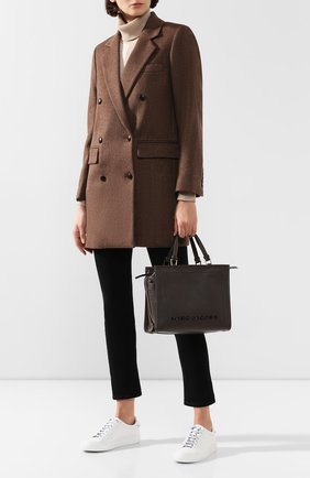 Женская сумка-шопер the box MARC JACOBS (THE) коричневого цвета, арт. M0014877 | Фото 2