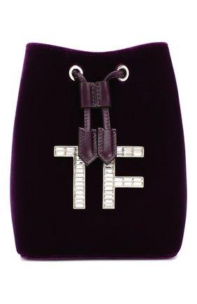 Женский сумка evening TOM FORD фиолетового цвета, арт. L1212P-TVE005 | Фото 1