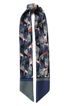 Шелковый шарф-бандо Regina Delle Ande | Фото №1