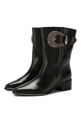 Кожаные ботинки Western | Фото №1