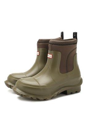 Резиновые ботинки Stella McCartney x Hunter | Фото №1