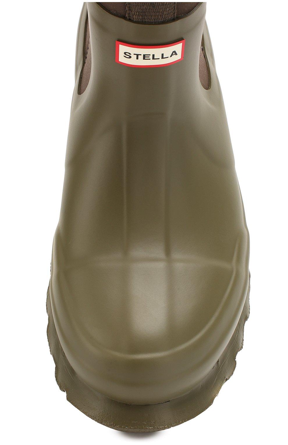 Резиновые ботинки Stella McCartney x Hunter | Фото №5