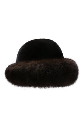 Шляпа из меха норки и соболя | Фото №1