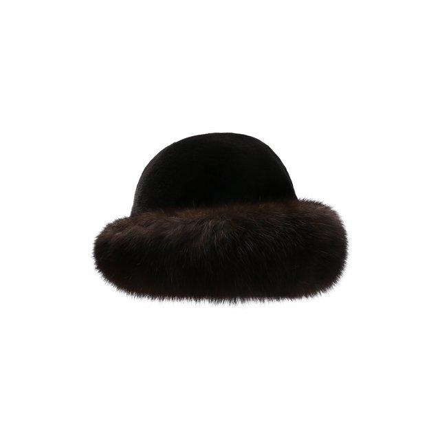 Шляпа из меха норки и соболя Kussenkovv