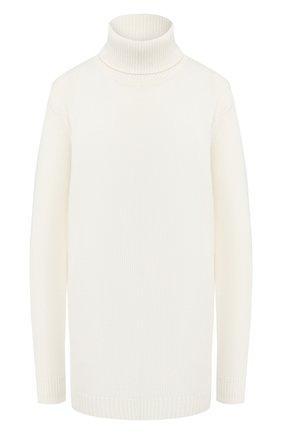 Женский кашемировый свитер ADDICTED белого цвета, арт. MK726   Фото 1