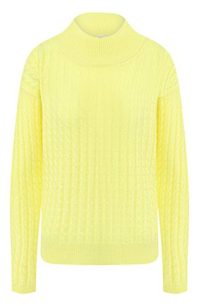 Женский кашемировый свитер ADDICTED желтого цвета, арт. MK915 | Фото 1