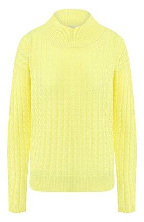 Женский кашемировый свитер ADDICTED желтого цвета, арт. MK915   Фото 1