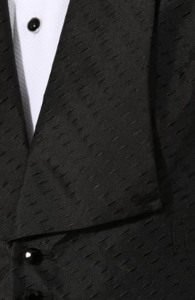 Женский шелковый жилет RALPH LAUREN черного цвета, арт. 290772231 | Фото 5