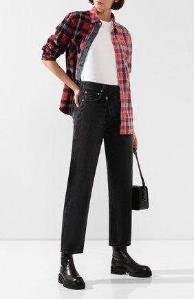 Женские джинсы AGOLDE серого цвета, арт. A097-1157   Фото 2