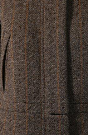 Куртка с меховой отделкой | Фото №5