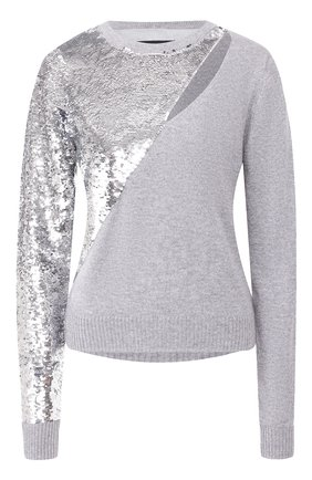 Пуловер с пайетками | Фото №1