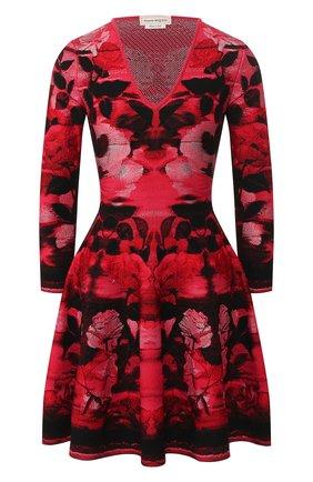 Платье из смеси шелка и вискозы | Фото №1
