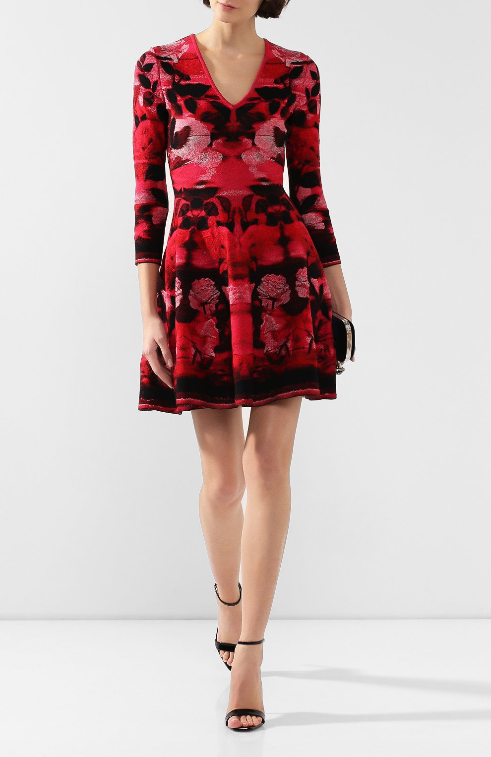Платье из смеси шелка и вискозы | Фото №2