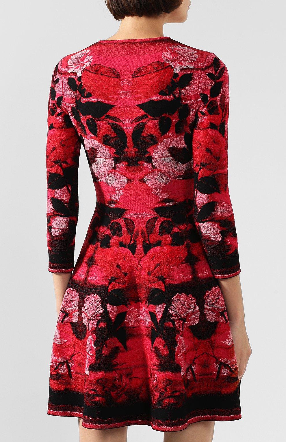 Платье из смеси шелка и вискозы | Фото №4