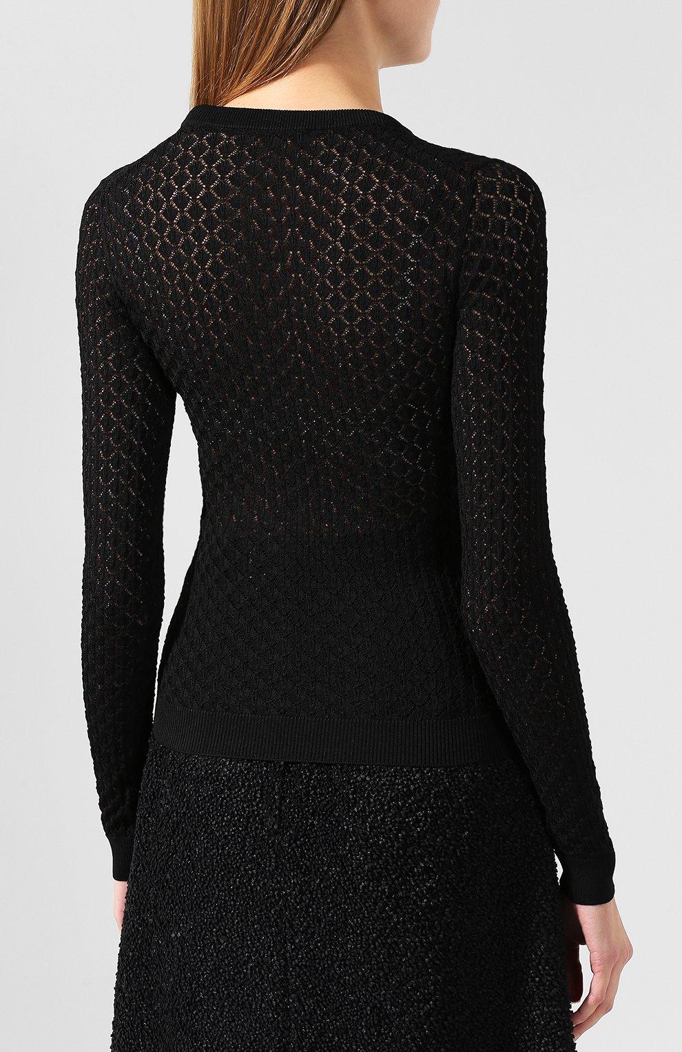 Пуловер из вискозы | Фото №4