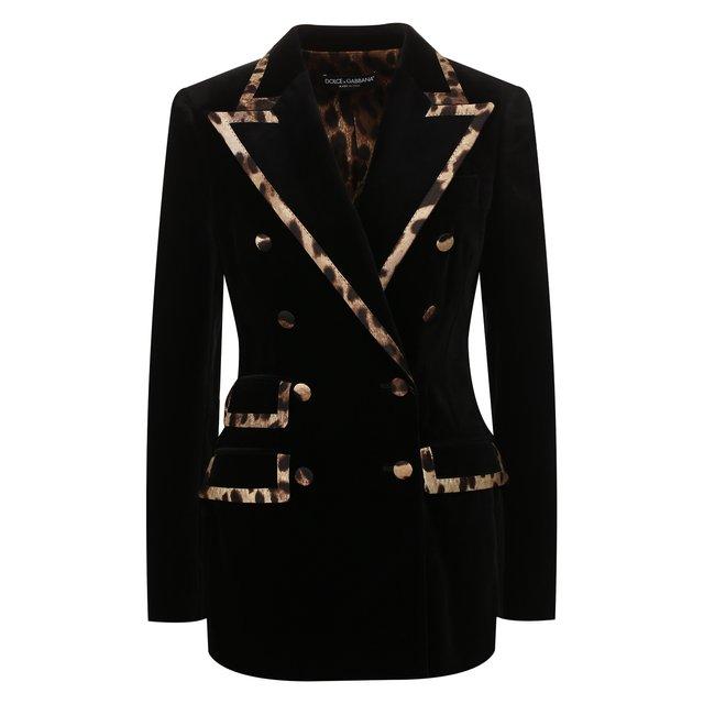 Двубортный жакет Dolce & Gabbana