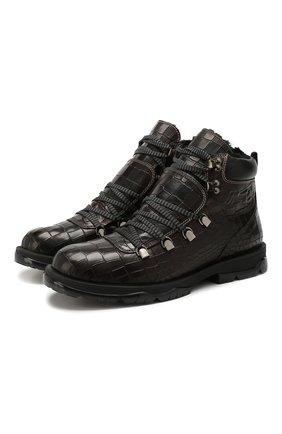 Кожаные ботинки Barra | Фото №1
